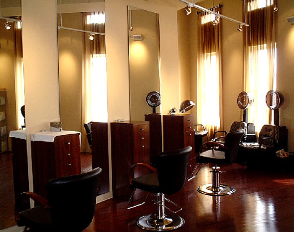 Beauty salon decorating ideas dream house experience for Hair salons designs ideas